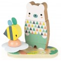 Wooden Pure Stackable Bear