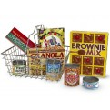Shopping Basket with Play Groceries