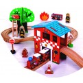 Fire and Rescue Train Set