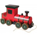 Victorian Wooden Steam Train Pull Along Toy