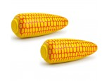 2 x Wooden Corn On The Cob