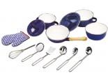 Tidlo Blue Kitchenware Set