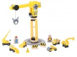 Big Yellow Crane and Construction Set 2