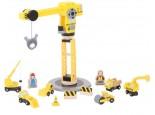 Big Yellow Crane and Construction Set 2