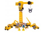 Big Yellow Crane and Construction Set