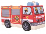 Stacking Wooden Fire Engine
