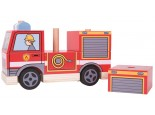 Stacking Wooden Fire Engine 1