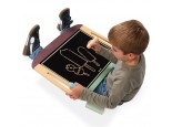 Table Top Magnetic Easel and Chalk Board