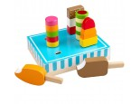 Stand of Wooden Ice Lollies