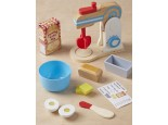 Wooden Food Mixer Set