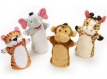 Zoo Friends Hand Puppets Set