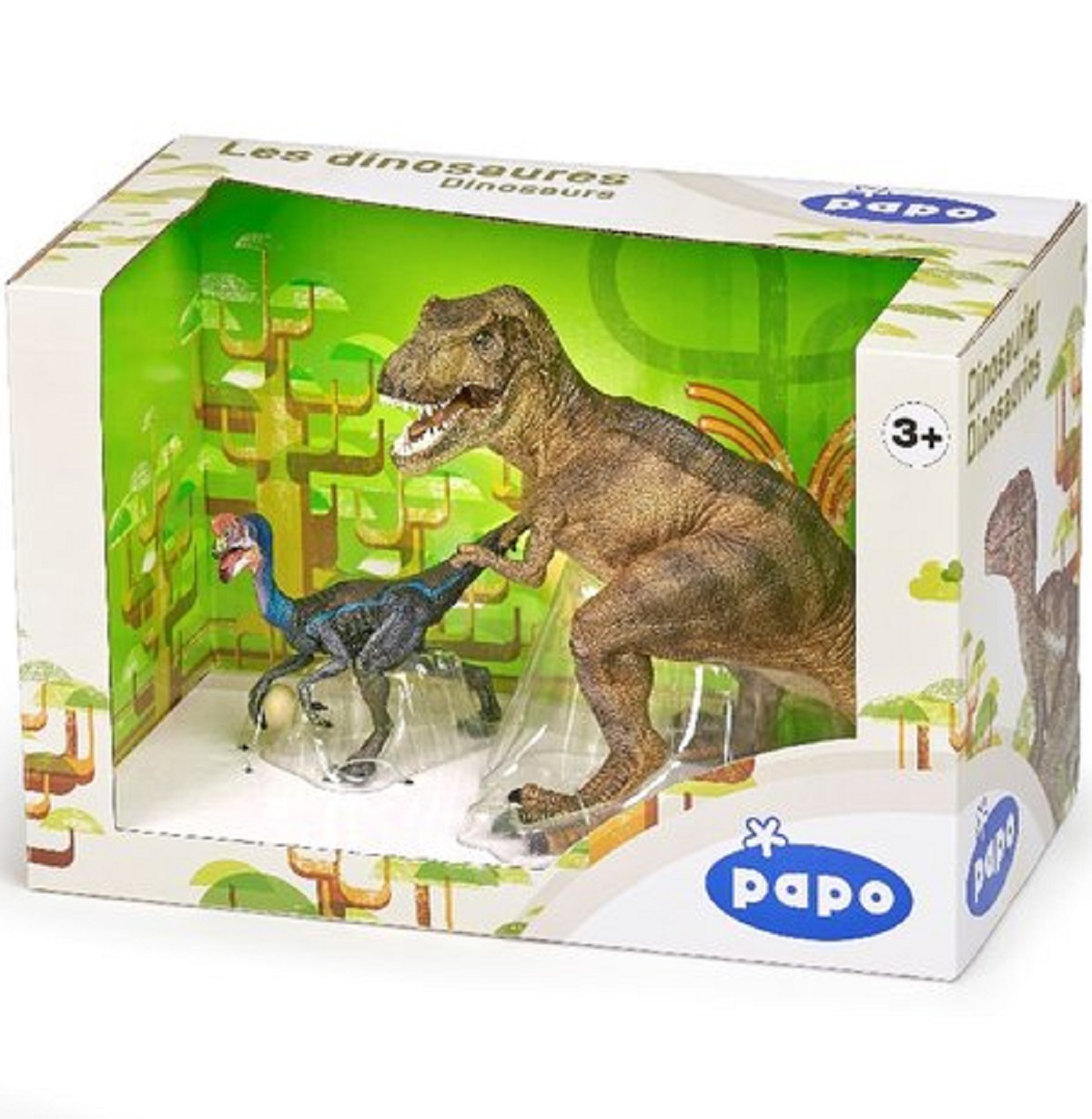 Dinosaur T-Rex and Oviraptor Gift Set