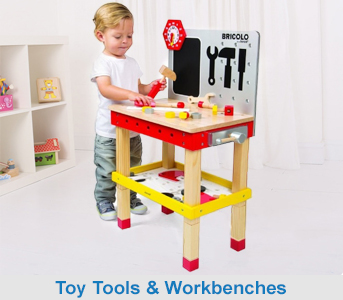Wooden Toy Workbenches