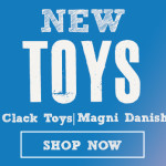 New Toys from Click Clack & Magni Danish Toys